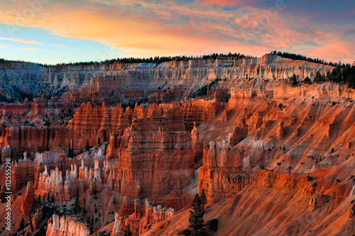 Fotomural Scenic view of Bryce Canyon Southern Utah USA