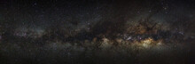 Milky Way Galaxy On A Night Sk...