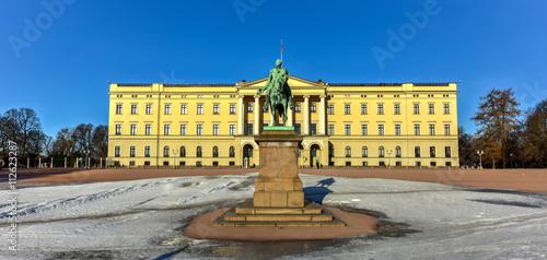 Photo  Royal Palace of Oslo