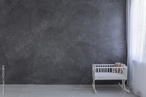 Most important piece of furniture in every baby's room Wallpaper Mural