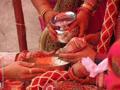 Kanyadaan Gift Of A Maiden Ritual Of Handing Over Bride By Her Parents To