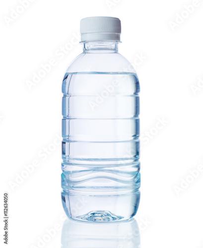 Obraz na płótnie plastic bottle of clear water