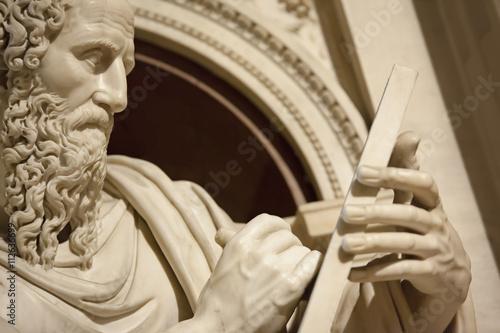 Fotomural Apostle John in Loreto Italy