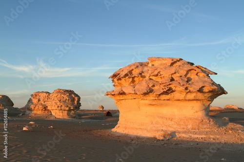 Poster Maroc Die Weiße Wüste bei Farafra in der Sahara von Ägypten