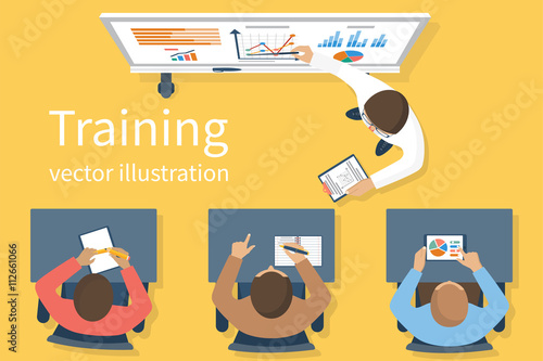 Training staff vector