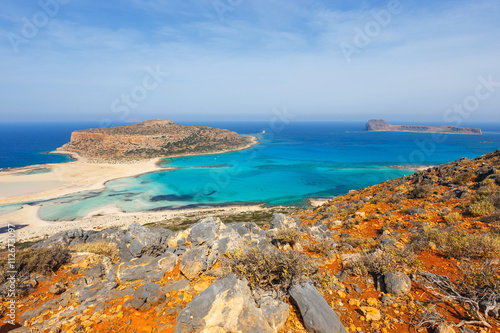 Foto op Canvas Cyprus beautiful Balos Lagoon and Gramvousa Island in Crete