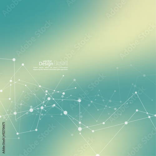 Virtual abstract background Wall mural