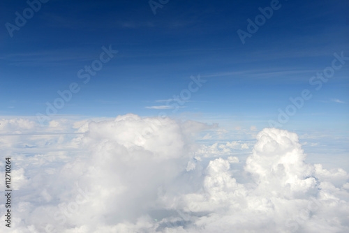Wall Murals Heaven Over the cloud with blue sky