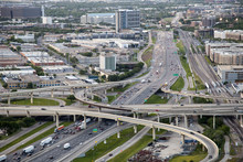 Highway In Dallas, Tx, USA