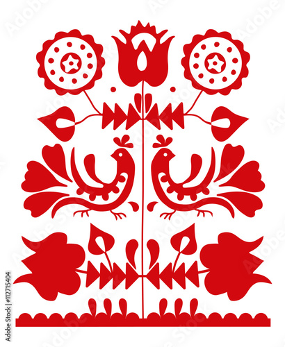 Valokuva Slavic folk ornament from Slovakia