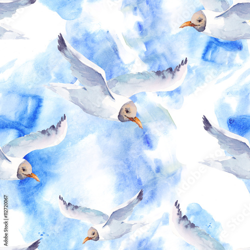 summer-watercolor-seamless-pattern-with-sea-gull