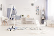 Baby room with seaside atmosphere