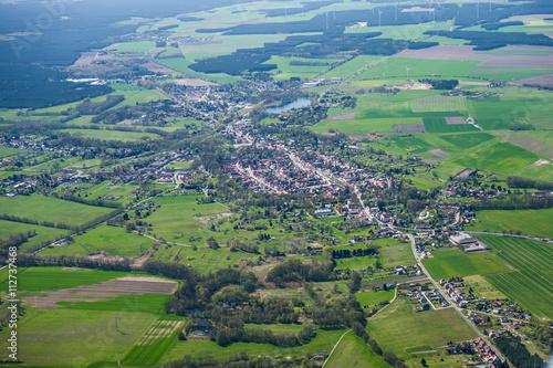 Fototapeta Sabinchenstadt Treuenbrietzen - Luftbild  obraz na płótnie