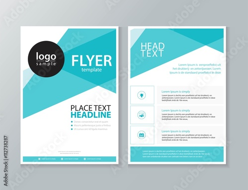 Stampa su Tela business brochure, flyer ,report Layout design template, and cover design