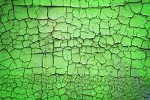 Green Peeling Background