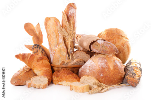 assorted french bread Canvas-taulu