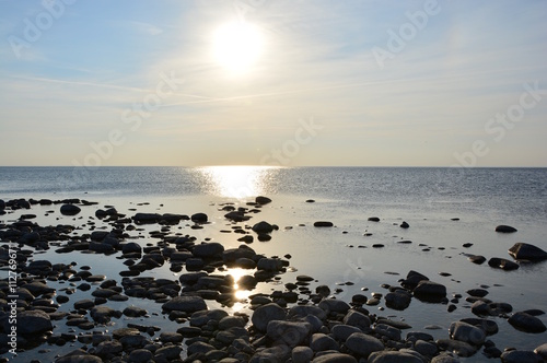 Fotografía  Sonnenuntergang auf Gotland