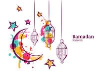 Ramadan Greeting Card Or Banne...