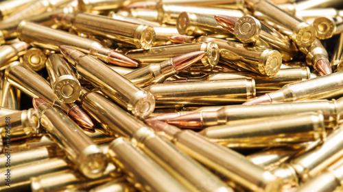 Leinwand Poster Golden ammunition