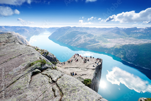 Fotografie, Obraz  Preikestolen Lysefjord