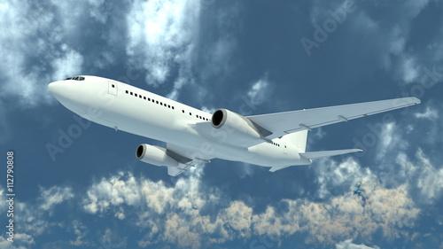 飛行機 Fotobehang