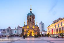 Sophia Cathedral In Harbin In ...