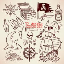Sketch Pirate Set