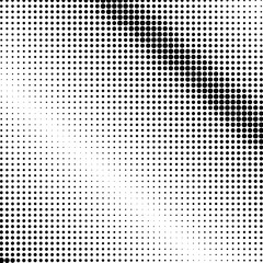 Panel SzklanyPop Art Background, Black Dots on a White Background, Halftone Background, Retro Style, Vector Illustration