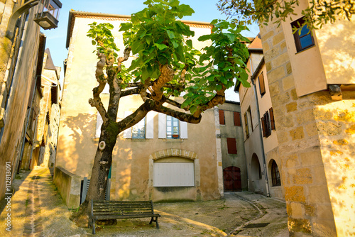 Photo Beautiful streets in Bergerac, France
