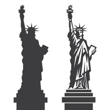 New York Statue Of Liberty Vec...