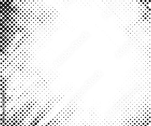Halftone pattern vector Fototapet