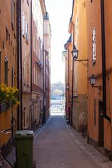 Fototapeta na wymiar Gamla Stan,The Old Town in Stockholm, Sweden