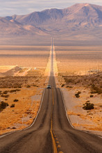 Long Desert Highway Leading In...