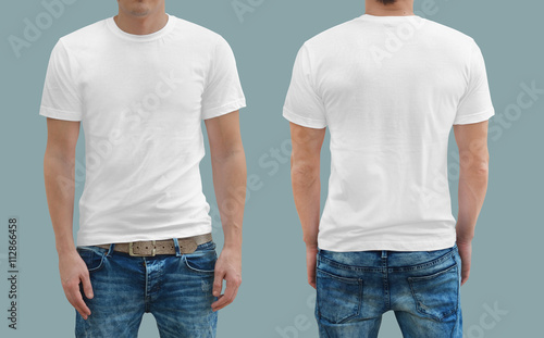 Obraz T-shirt template - fototapety do salonu