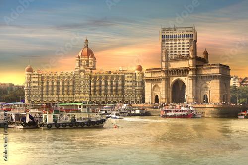 Mumbai, INDIA - December 6 : Gateway of India was built by British raj in 1924,T Wallpaper Mural