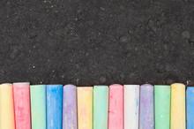 Colorful Pastel Sidewalk Chalk...
