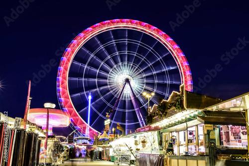 Fotobehang Amusementspark ruota panoramica
