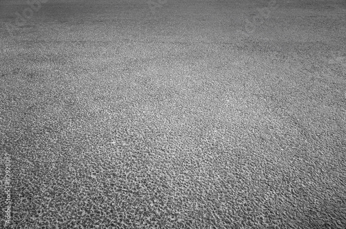 Vászonkép Dark gray asphalt pavement of new highway