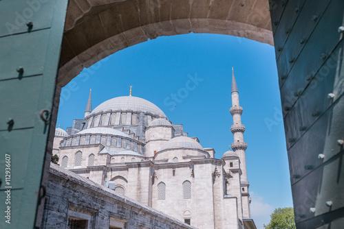 Plakat Turecka kopuła meczetu