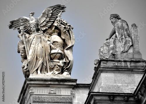Fotografie, Obraz  Louvre - das wohl berühmteste Museum der Welt