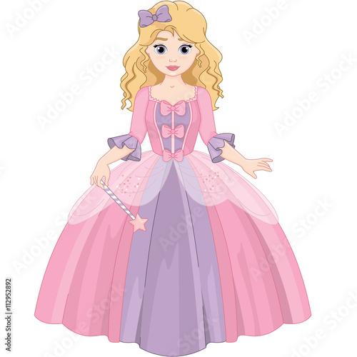 Garden Poster Little Princess
