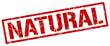 natural red grunge square vintage rubber stamp