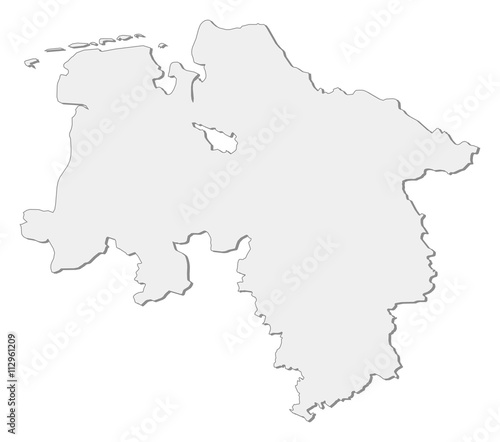 Lower Saxony Germany Map.Map Lower Saxony Germany Buy This Stock Vector And Explore