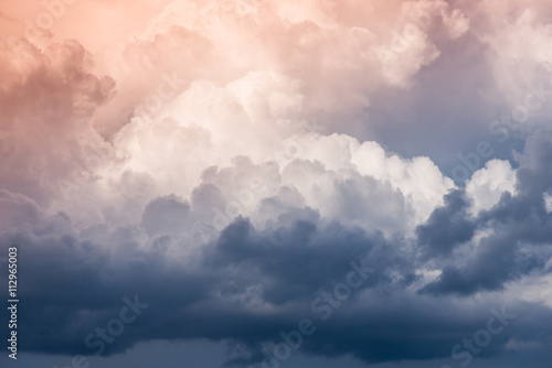 Canvas Prints Heaven storm clouds