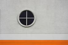 Circular Window On Wall.