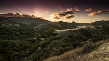 Santa Monica Mountains And Mal...