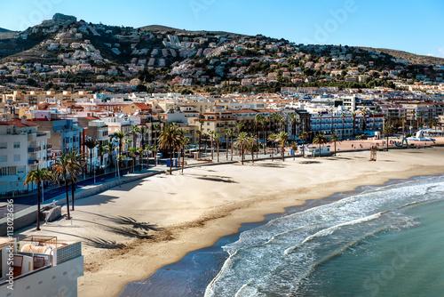 Peniscola coastline, Costa del Azahar. Spain