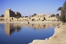 Sacred Pool, Temple Of Karnak,...