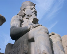 Statue Of Rameses II, Luxor, T...