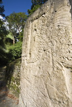 Stela 9 Erected In AD 625 To C...